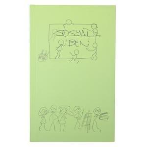Yeşil Kalın Kaplı Defter 20200109-04-YESIL