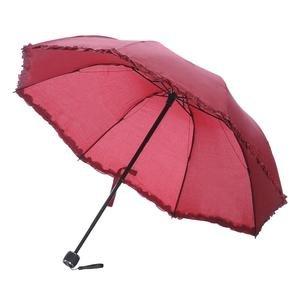 Bordo Katlanabilir Şemsiye 20200109-10-BORDO