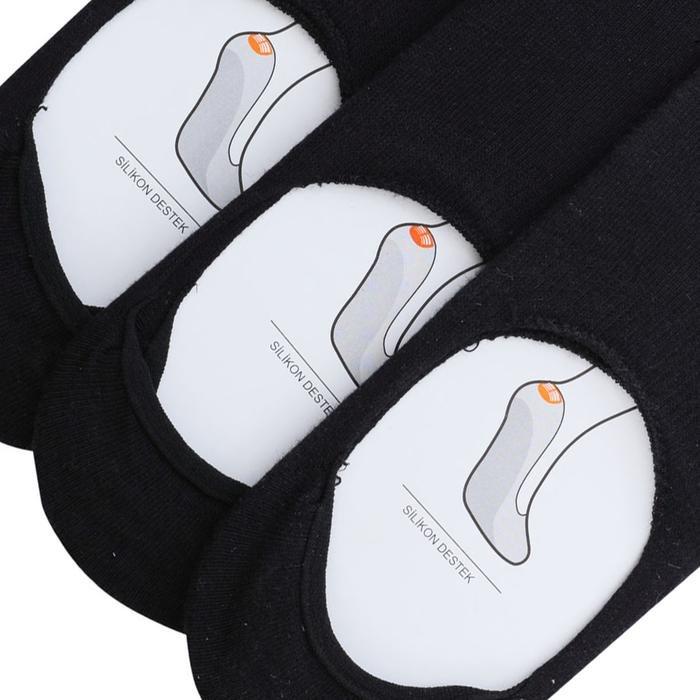 Erkek Siyah 3'lü Babet Çorabı SPTSC002-N-SYH 1117709