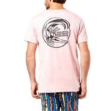 Wavecult Backdrop Erkek Pembe Günlük Stil Tişört 602310-4026 826872