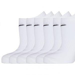 Everyday Lightweight Beyaz 6'lı Çorap SX7679-100