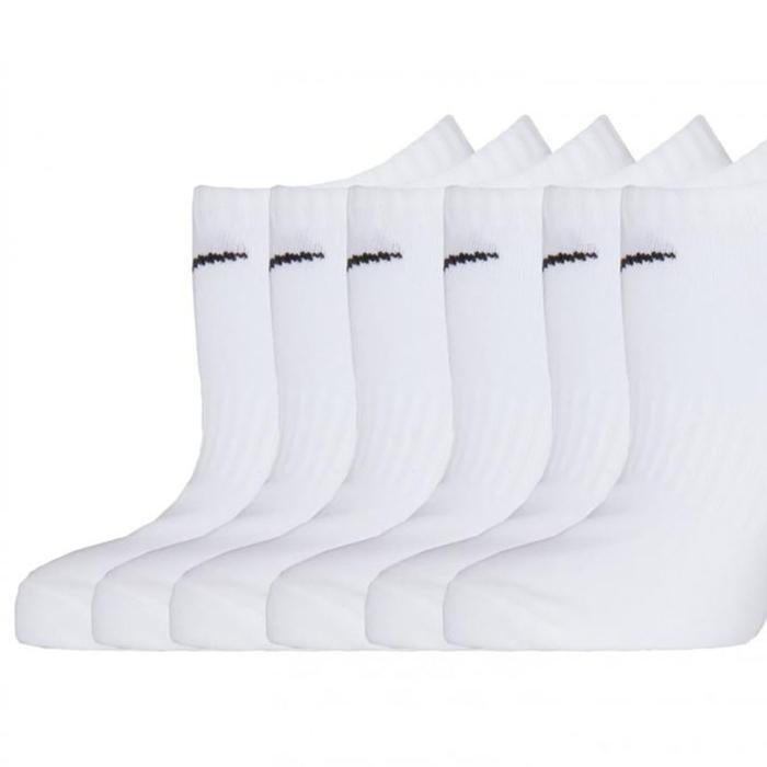 Everyday Lightweight Beyaz 6'lı Çorap SX7679-100 1063453