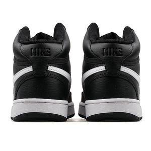 Court Vision Mid Kadın Siyah Günlük Ayakkabı CD5436-001