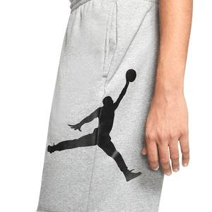 J Jumpman Logo Flc Erkek Siyah Basketbol Şortu AQ3115-091