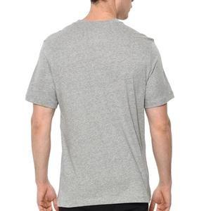 Nsw Tee Just Do It Swoosh Erkek Gri Günlük Stil Tişört AR5006-063