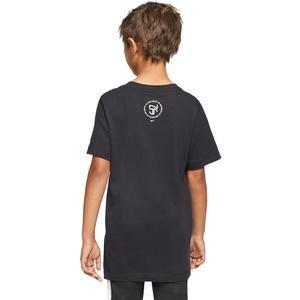 Tee Hero Çocuk Siyah Futbol Tişört CD0174-010