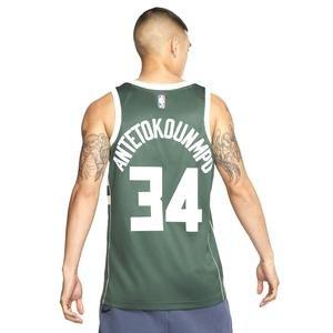 Mil M Nk Swgmn Jsy Road Erkek Yeşil Basketbol Forması 864489-323