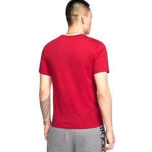 J Jumpman Ss Crew Erkek Kırmızı Basketbol Tişört CJ0921-687