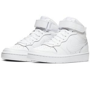 Court Borough Mid 2 (Gs) Unisex Beyaz Günlük Ayakkabı CD7782-100