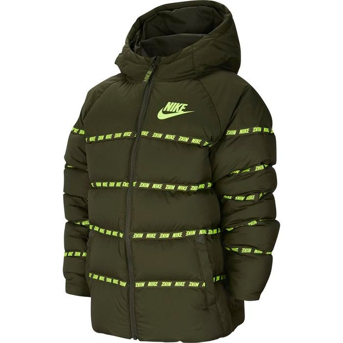 Down Jkt Çocuk Yeşil Tenis Ceket CU9154-325 1211699