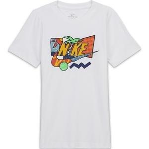 Tee Futura Palm Çocuk Beyaz Tenis Tişört CZ1840-100