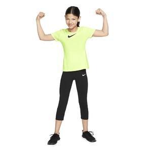 Np Top Ss Çocuk Sarı Tenis Tişört AQ9035-701