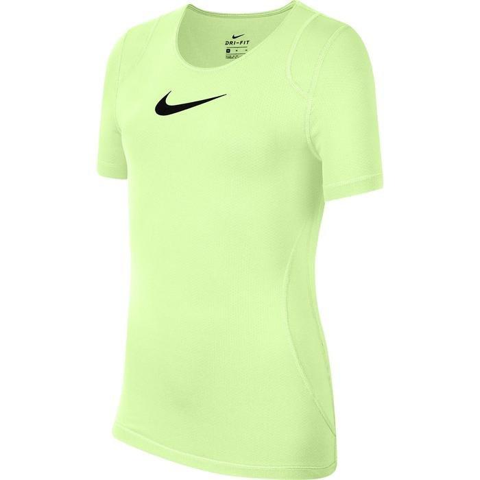 Np Top Ss Çocuk Sarı Tenis Tişört AQ9035-701 1212136