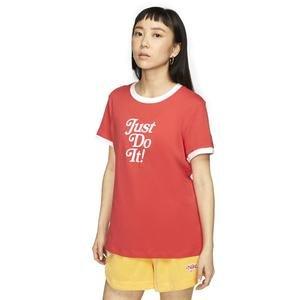 Tee Ringer Retro Fem Kadın Kırmızı Antrenman Tişört CT8901-631