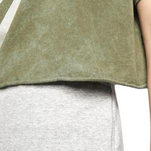 Tee Wash Futura Crop Kadın Kahverengi Antrenman Tişört CT8929-222