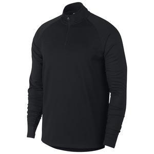 Dry Academy Dril Top Erkek Siyah Futbol Uzun Kollu Tişört AJ9708-011