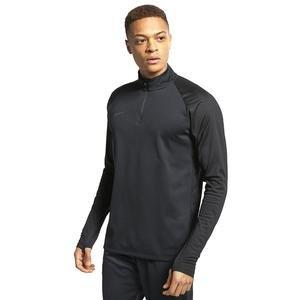 Dry Acdmy Dril Top Erkek Siyah Futbol Uzun Kollu Tişört AJ9708-011
