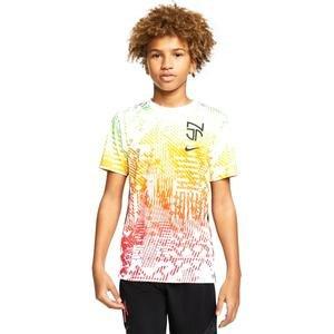 Dry Top Ss Çocuk Beyaz Futbol Tişört CD2228-100