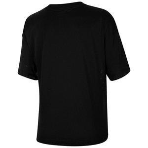 Mesh Top Ss Kadın Siyah Antrenman Tişört CK1456-010