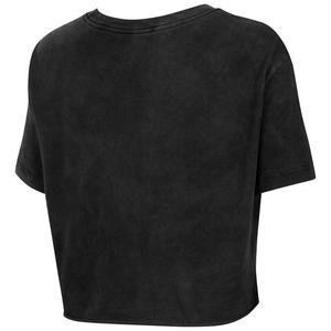 Tee Wash Futura Crop Kadın Siyah Antrenman Tişört CT8929-010