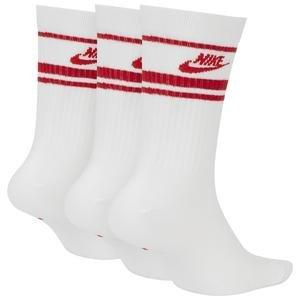 Crew Nsw Essential Stripe Unisex Beyaz Günlük Çorap CQ0301-102