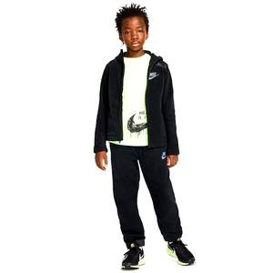 Hoodie Fz Winterized Çocuk Siyah Günlük Sweatshirt BV4506-011