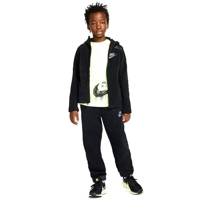 Hoodie Fz Winterized Çocuk Siyah Günlük Sweatshirt BV4506-011 1155617