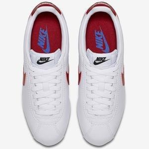 Classic Cortez Leather Kadın Beyaz Günlük Ayakkabı 807471-103