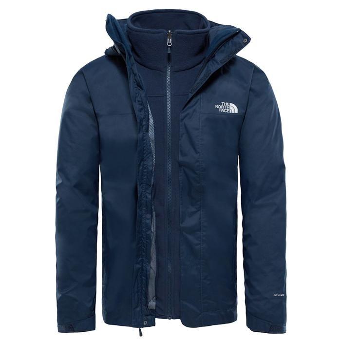 Evolve II Triclimate Jacket Erkek Lacivert Outdoor Ceket NF00CG55H2G1 1198583