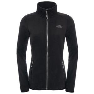 100 Glacier Full Zip Kadın Siyah Outdoor Ceket NF0A2UAUJK31