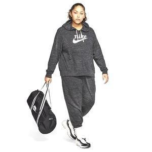 Gym Vntg Hoodie Hbr Plus Kadın Siyah Antrenman Sweatshirt CT0642-010
