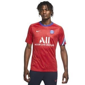 Paris Saint Germain Brt Top Ss Pm Erkek Kırmızı Futbol Tişört CD5816-658
