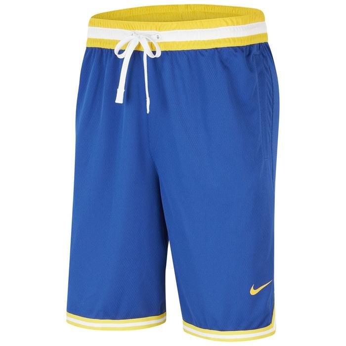 NBA Golden State Warriors Erkek Mavi Basketbol Şortu AV0140-495 1195447
