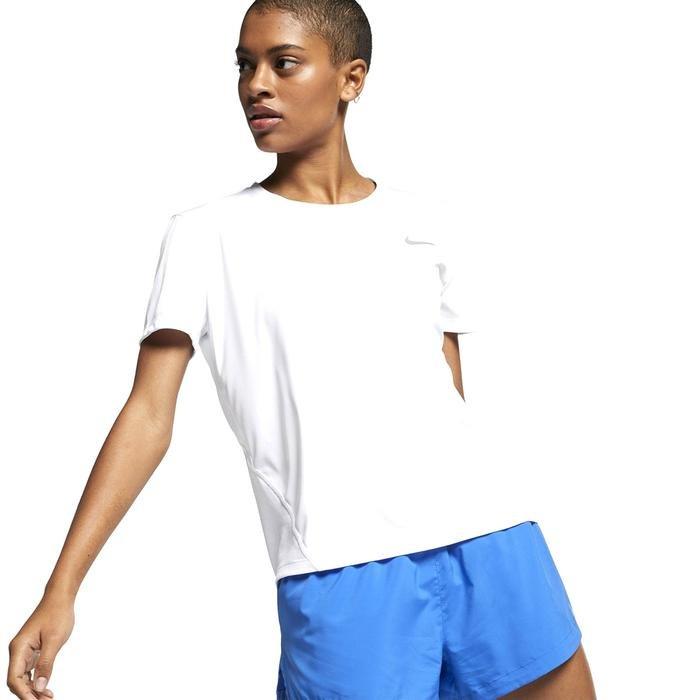 Miler Top Ss Kadın Beyaz Koşu Tişört AJ8121-100 1195377