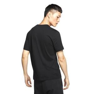 Brand Mark Erkek Siyah Günlük Stil Tişört AR4993-013