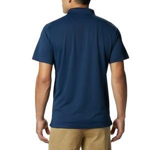 Utilizer Erkek Mavi Günlük Polo Tişört AO0126-464