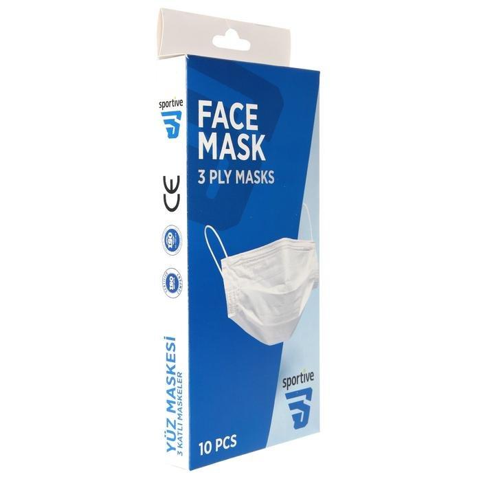 Üç Katlı Telli 10'lu Cerrahi Maske SPT-MASKE10 1220338
