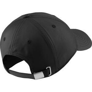 H86 Metal Swoosh Cap Unisex Siyah Günlük Şapka 943092-010