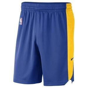 NBA Golden State Warriors Practice 19 Erkek Mavi Basketbol Şortu AV4978 495