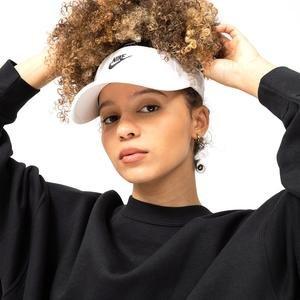 Visor Kadın Beyaz Günlük Şapka CU7262-100