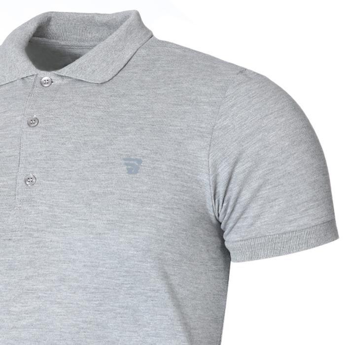 Pikepolo Erkek Gri Günlük Stil Polo Tişört 711215-GRI 1158422