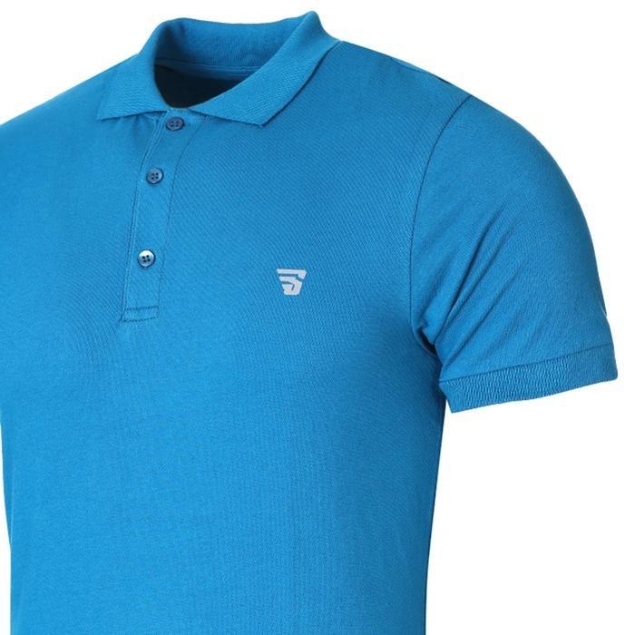 Pikepolo Erkek Mavi Günlük Stil Polo Tişört 711215-PTR 1158427