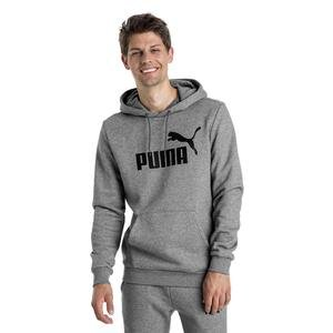Ess Hoody Fl Big Logo Erkek Gri Günlük Sweatshirt 85174303