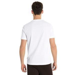 Ess Logo Tee Erkek Beyaz Günlük Tişört 85174002