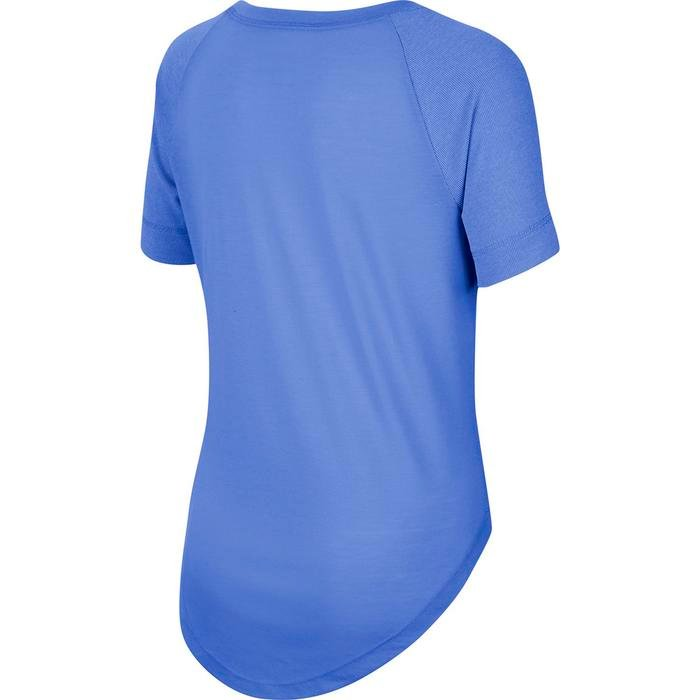 Nk Dry Trophy Ss Top Çocuk Mavi Tenis Tişört CU8288-478 1212237