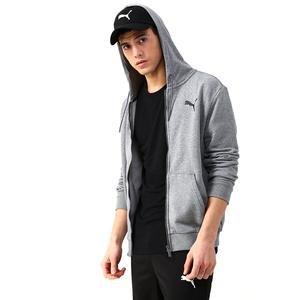Ess Fz Hoody Tr Erkek Gri Günlük Sweatshirt 85176723