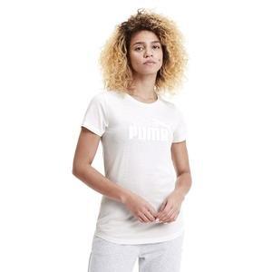 Ess+ Logo Heather Tee Kadın Beyaz Günlük Tişört 85212717