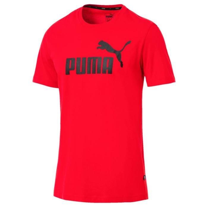 Ess Logo Tee Erkek Kırmızı Günlük Tişört 85174005 1172536