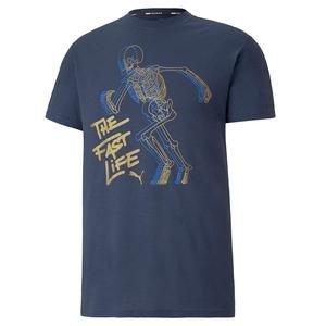 Puma Graphic Tee Erkek Beyaz Günlük Tişört 51902602