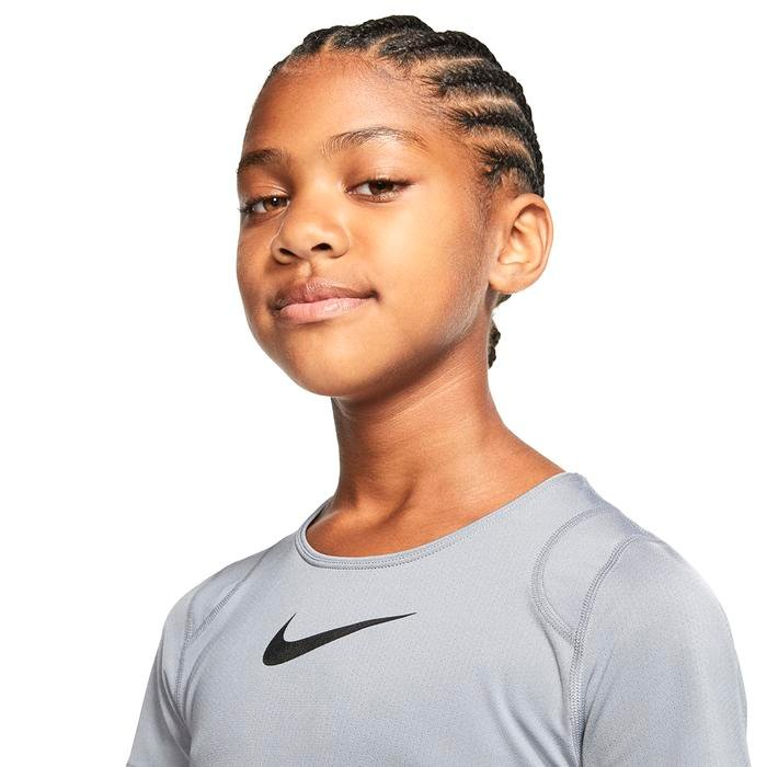 Np Top Ss Çocuk Siyah Tenis Tişört AQ9035-065 1212133